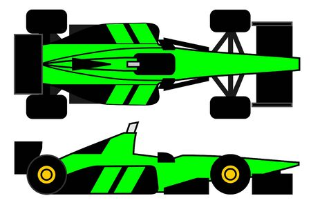 Competition car Vector