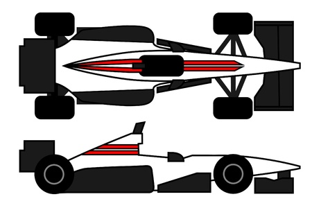racecar: Aerodynamic car to compete