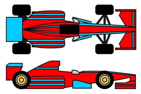 Modern racing car Stock Vector - 10391722