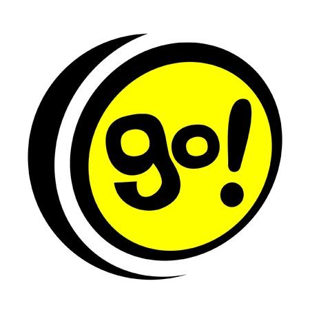 Go icon Illustration