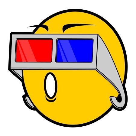 놀라운: 미래 안경 이모티콘
