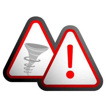 Dangerous tornadoes Stock Vector - 10605648
