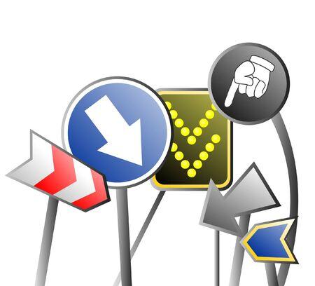 se�ales trafico: Se�ales de tr�fico Resumen