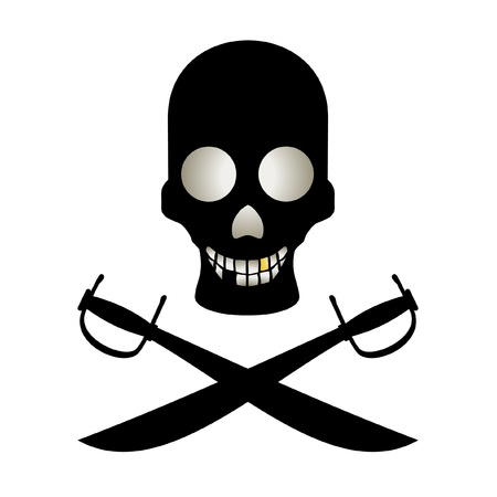 Pirate funny Stock Vector - 10605661