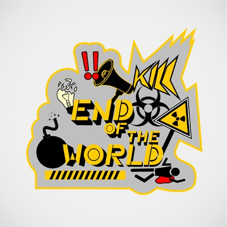 End of the world Stock Vector - 10586401