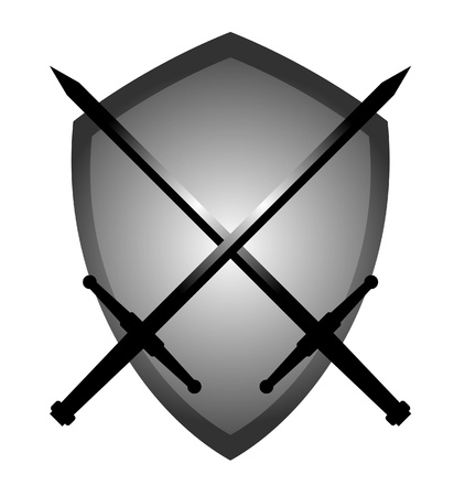 War Emblem Stock Vector - 10605657