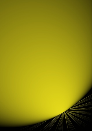 sophistication: Abstract background with golden light
