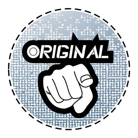 Original Stock Vector - 10729176