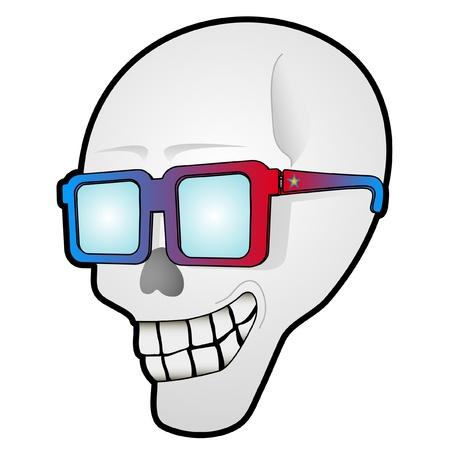 Smile skull Stock Vector - 10876829