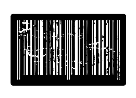 soiled: Dark old bar code