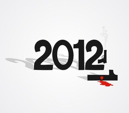 Blood 2012 Stock Vector - 10876827