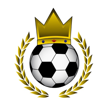 King football Stock Vector - 10729183