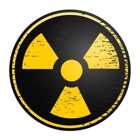 radioactive symbol:  icono Vectores