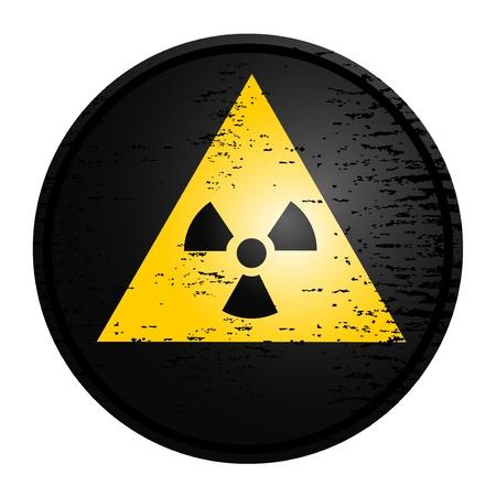 Radiation sign Stock Vector - 10731324