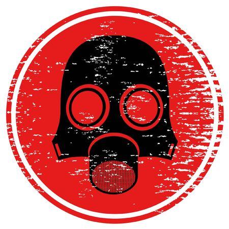 disfrazados: Icono de m�scara de gas