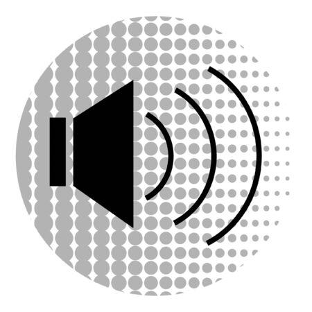 Audio sign Vector