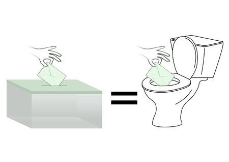 useless: Useless vote Illustration