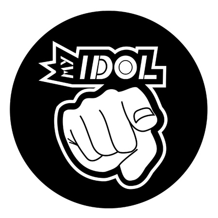 My idol Stock Vector - 10749150