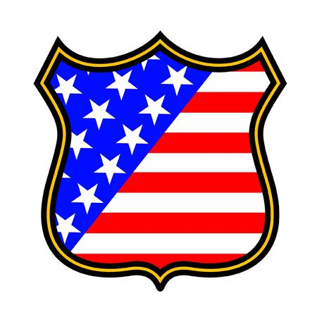 Emblem of the United States Stock Vector - 10828999