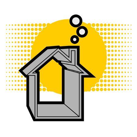 maison solaire: Maison solaire