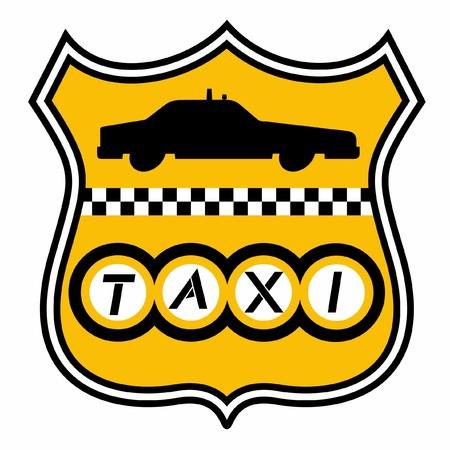 Emblem of taxi Stock Vector - 10829000