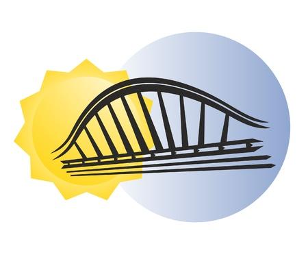 modern innovative: Modern bridge design