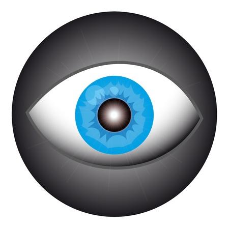 観察: 創造的な円目