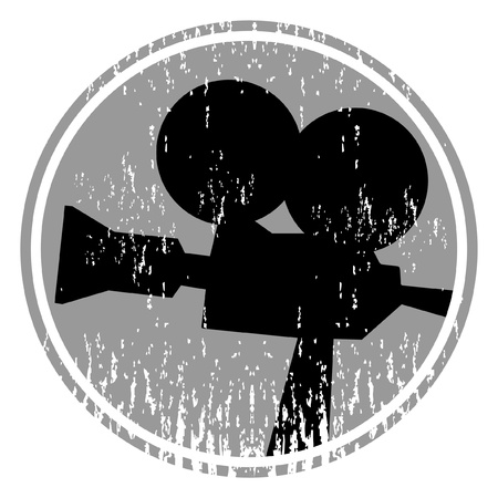Old film camera Vectores