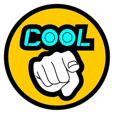 You cool Stock Vector - 10876838