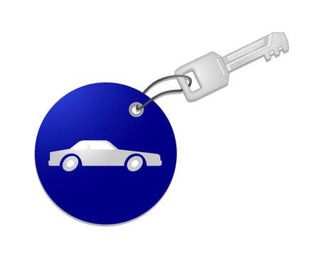 Car key Stock Vector - 10829080