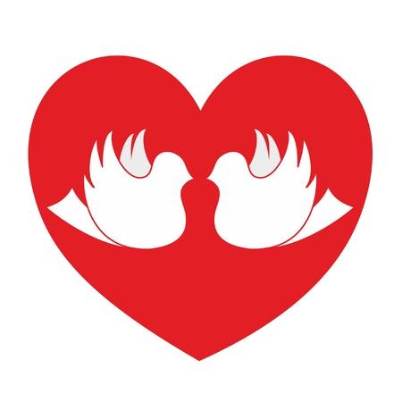 Love passion Stock Vector - 10905591