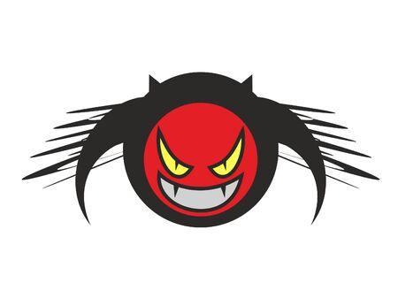 Evil icon Stock Vector - 10944828