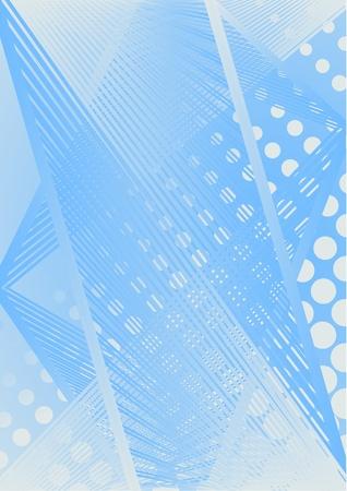 evolving: Blue creative background