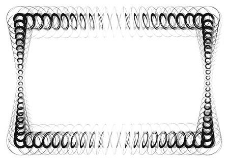 quadrant: Elegant frame Illustration