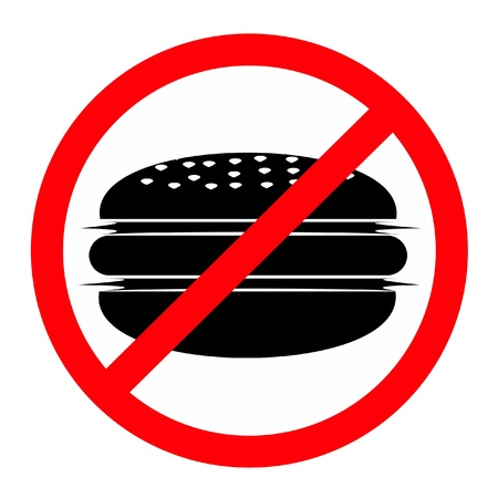 additives: Burgers banned Illustration