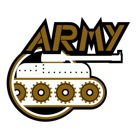 Army icon Stock Vector - 10985632