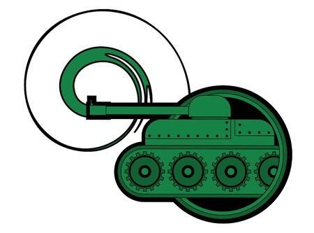 strife: Army vehicle icon Illustration