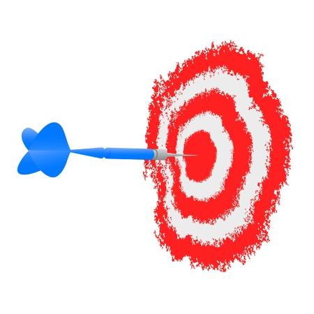 targeted: Creative target Illustration