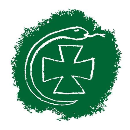 Health symbol Stock Vector - 10985694
