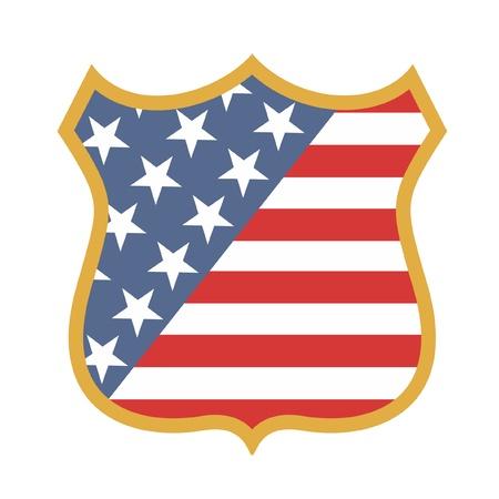 governmental: Emblema estadounidense Vectores