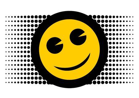 Smile face icon Stock Vector - 11012661