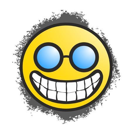 Happy face Banque d'images - 10985677