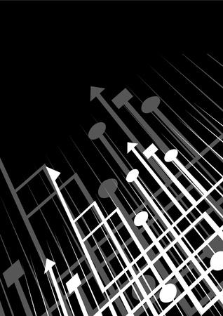Creative arrows background Vectores
