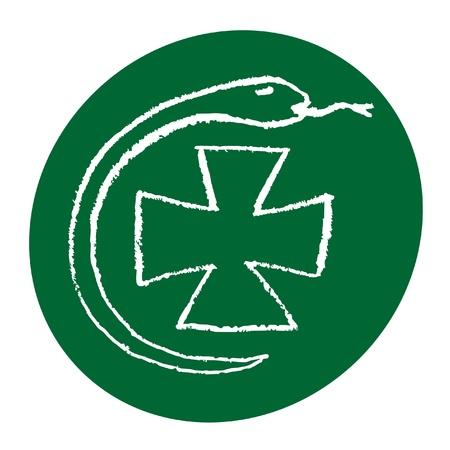 Pharmacy symbol Stock Vector - 11074125