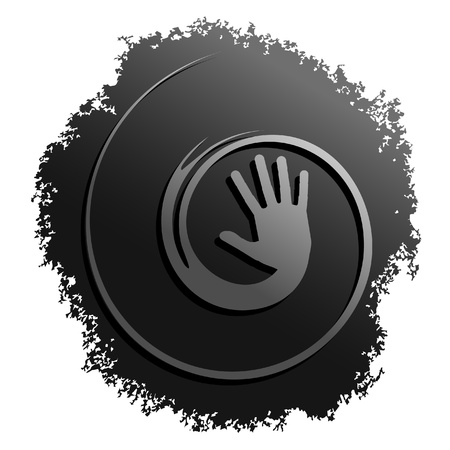 Creative human symbol Stock Vector - 11074145