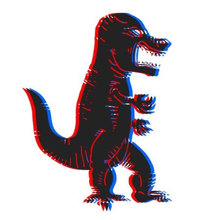 visual effect: Tyrannosaurus rex visual effect