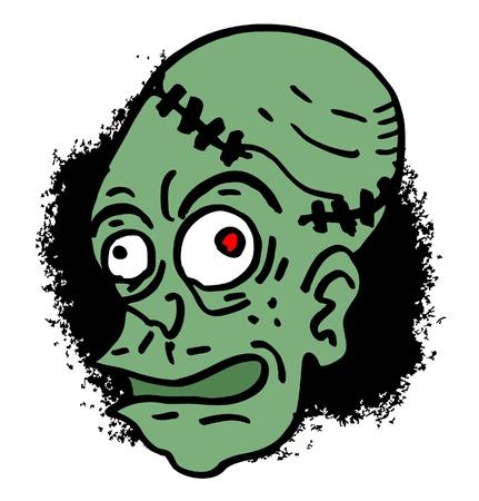terror: Terror head Illustration