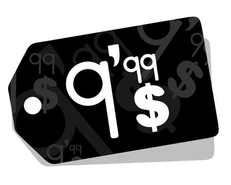 Price card design Stock Vector - 11174085