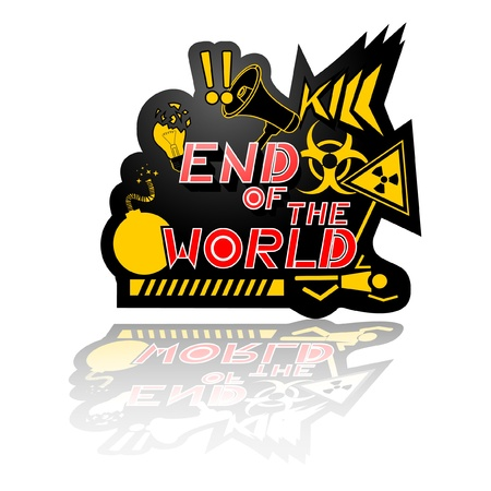 End of the world Stock Vector - 11174096