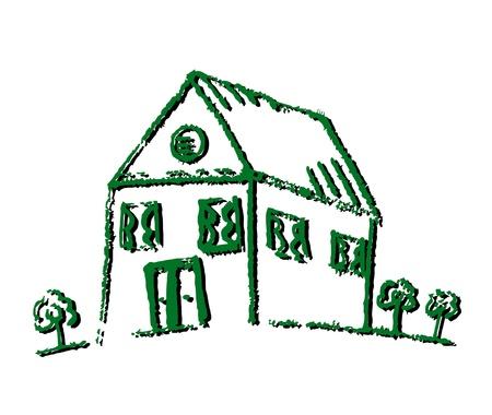 Green house Stock Vector - 11249095
